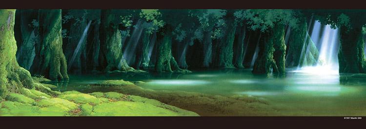 ENS,352,203 もののけ姫 シシ神の森 352ピース ジグソーパズル