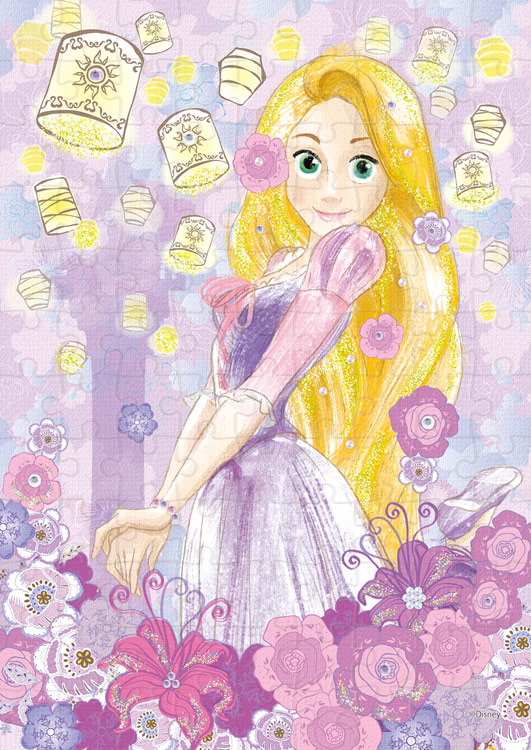 Epo 72 003 ディズニー Rapunzel ラプンツェル Royal Lavender 塔の上のラプンツェル 108ピース Cp Pd エポック社 の商品詳細ページです 日本最大級のジグソーパズル通販専門店 ジグソークラブ