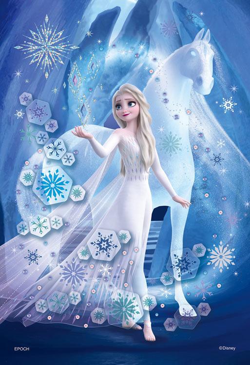 雪 パズル アナ