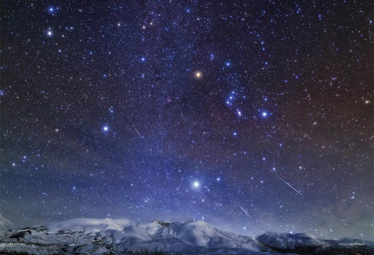 夜 降る 星 に が