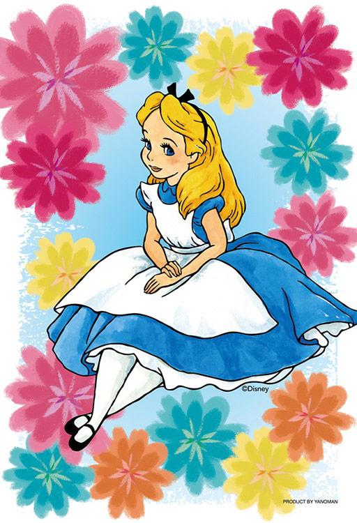 Yam 97 170 ディズニー Kiriart Alice 不思議の国のアリス 70ピース やのまん の商品詳細ページです 日本最大級のジグソーパズル通販専門店 ジグソークラブ