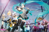 ENS-1000-521 初音ミク Let's do a gig! 1000ピース ジグソーパズル