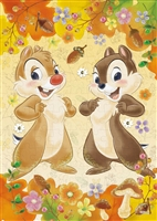 EPO-72-011 ディズニー Chip'n Dale(チップ&デール)-autumn feast- (チップ&デール) 108ピース ジグソーパズル[CP-D][CP-PD]