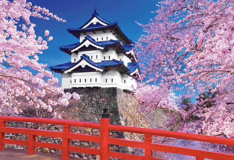 1000ピース BEV-51-226 富士と桜舞う浅間神社 世界遺産 ジグソーパズル [CP-C]