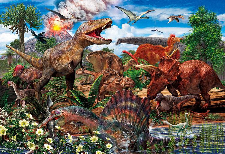 BEV-80-016 子供用パズル 白亜紀の恐竜 80ピース ビバリー の商品詳細 ...