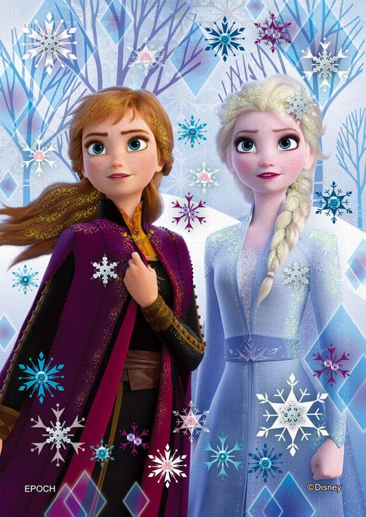 EPO-72-021 ディズニー Elsa & Anna (エルサ&アナ)-icy white ...